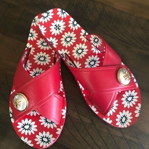 Tory Burch Melody crisscross slides